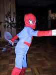 Spiderman in Action - halloween 2003